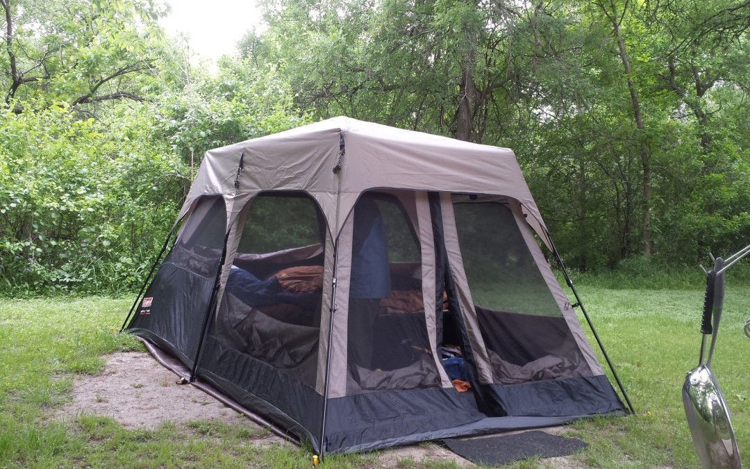 Coleman Instant Tent & Coleman Instant Tent | The Miles Go There